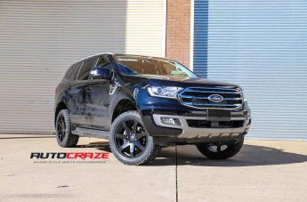 Ford EVEREST MOZAMBIQUE MATTE BLACK