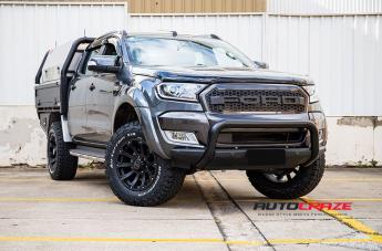 FORD RANGER SIDEWINDER MATTE BLACK  small