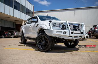 FORD RANGER VAPOR MATTE BLACK  small