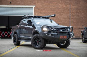 Holden COLORADO SABBATH MATTE BLACK