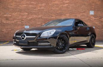 Mercedes SLK CLASS ZR1 GLOSS BLACK