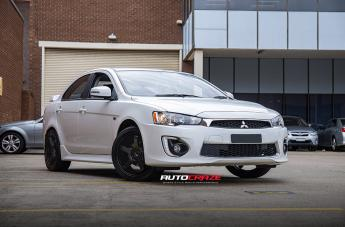 Mitsubishi LANCER VILLAIN SATIN BLACK