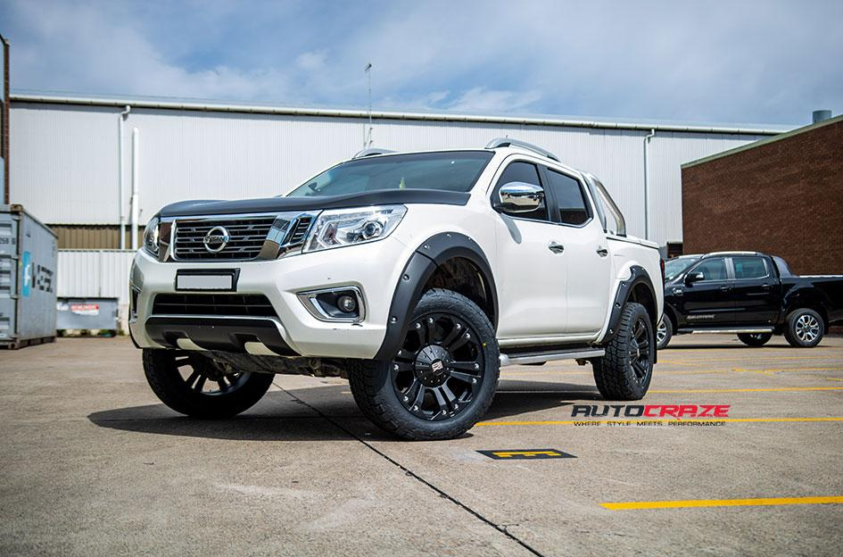 NISSAN NAVARA MONSTER XD MATTE BLACK
