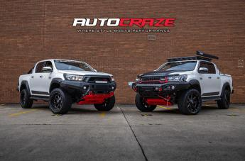 Toyota HILUX 4WD BLADE  OR GLOSS BLACK MILLED