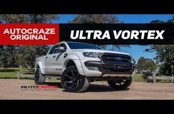 Ford RANGER VORTEX GLOSS BLACK WITH MILLING