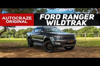 Ford RANGER GD02 MATTE BLACK MACHINED FACE