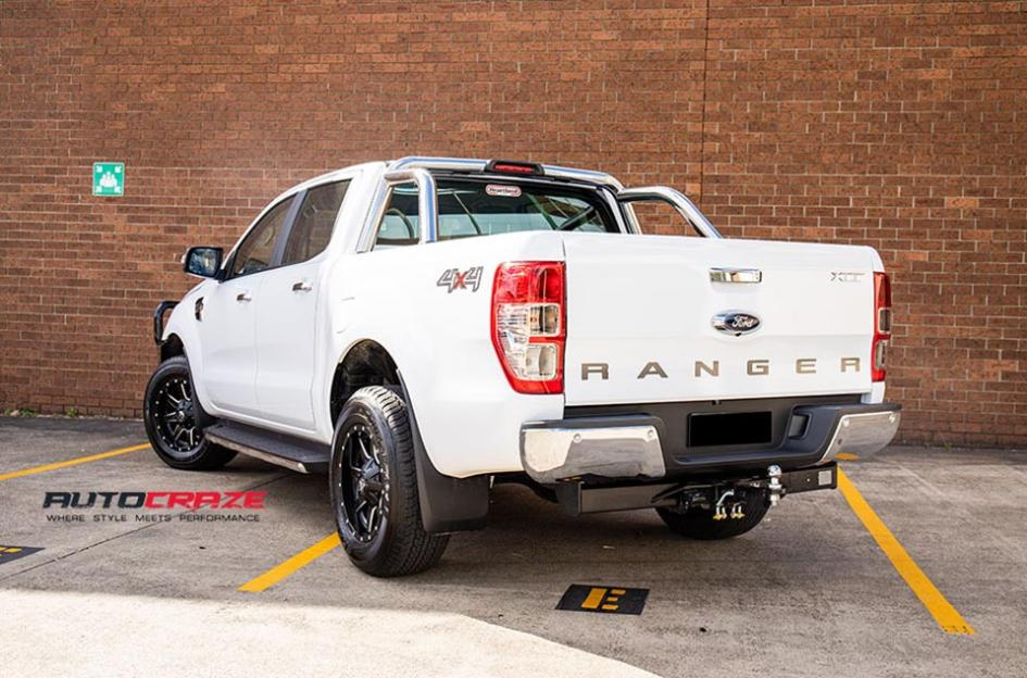 FORD RANGER MAVERICK GLOSS BLACK MILLED ACCENTS