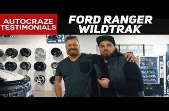 Ford RANGER GD04 MATTE BLACK