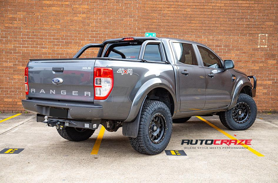FORD RANGER MACHETE XD SATIN BLACK
