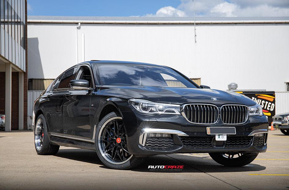 BMW 7 SERIES KIKI5588 BLACK POLISHED LIP