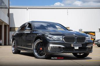 BMW 7 SERIES KIKI5588 BLACK POLISHED LIP  small