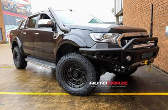 Ford RANGER D-HOLE BLACK