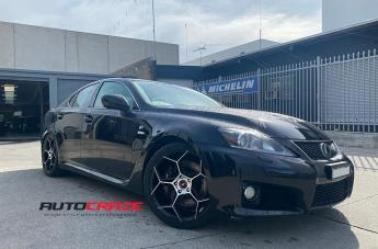 Lexus ISF IFG40 BLACK MACHINED FACE