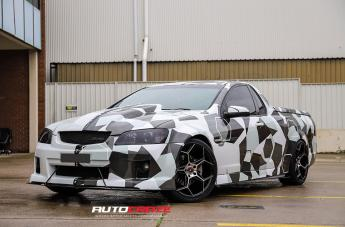 Holden COMMODORE IFG40 BLACK MACHINED FACE