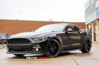 Ford MUSTANG IFG 8 FLAT BLACK