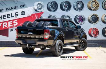 FORD RANGER SLEDGE GLOSS BLACK MILLED ACCENTS  small