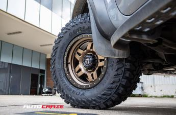 FORD RANGER RAPTOR ANZA MATTE BRONZE WITH BLACK RING  small