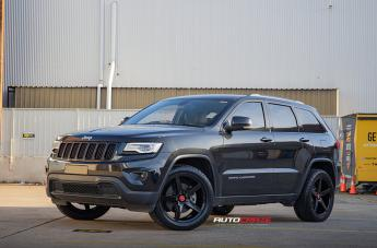 Jeep GRAND CHEROKEE IFG 8 FLAT BLACK