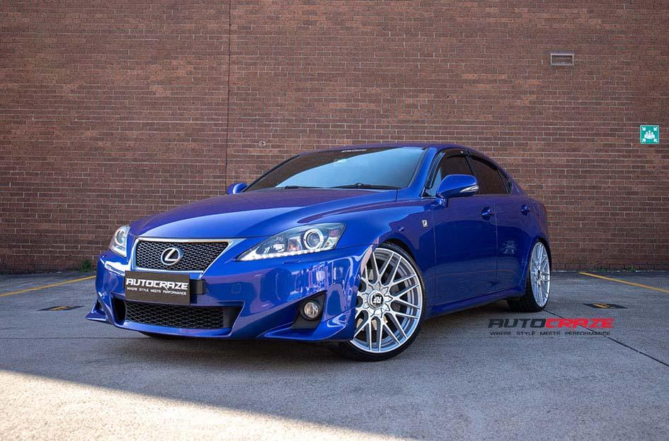 LEXUS IS350 RSE SILVER