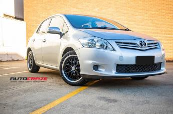 TOYOTA COROLLA CHEETAH SPORTS BLACK SUEDE  small