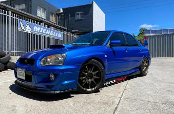 SUBARU IMPREZA EMOTION D9R AHG BRONZE  small