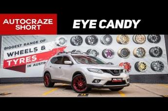 Nissan X-TRAIL NURBERG CANDY APPLE RED