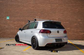VOLKSWAGEN GOLF CCV MATTE BLACK  small