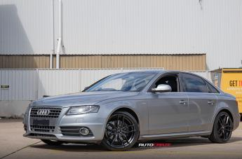 Audi A4 (2003 ONWARDS) VOSSO SATIN BLACK
