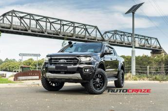 FORD RANGER SLEDGE MATTE BLACK  small