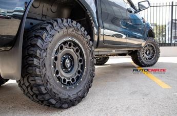 FORD RANGER HOLESHOT XD SATIN BLACK  small