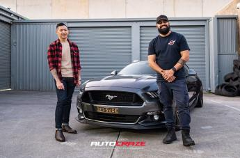 Ford MUSTANG SF11 BRONZE