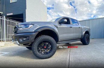 Ford RANGER RAPTOR SABBATH MATTE BLACK