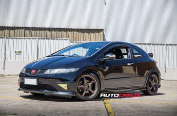 Honda CIVIC (5 STUD) MR131 MATTE BRONZE