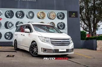 Nissan ELGRAND IFG41 BLACK MACHINED FACE