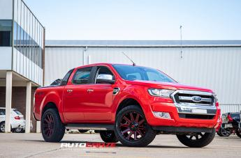 Ford RANGER CONTRA GLOSS BLACK CANDY RED