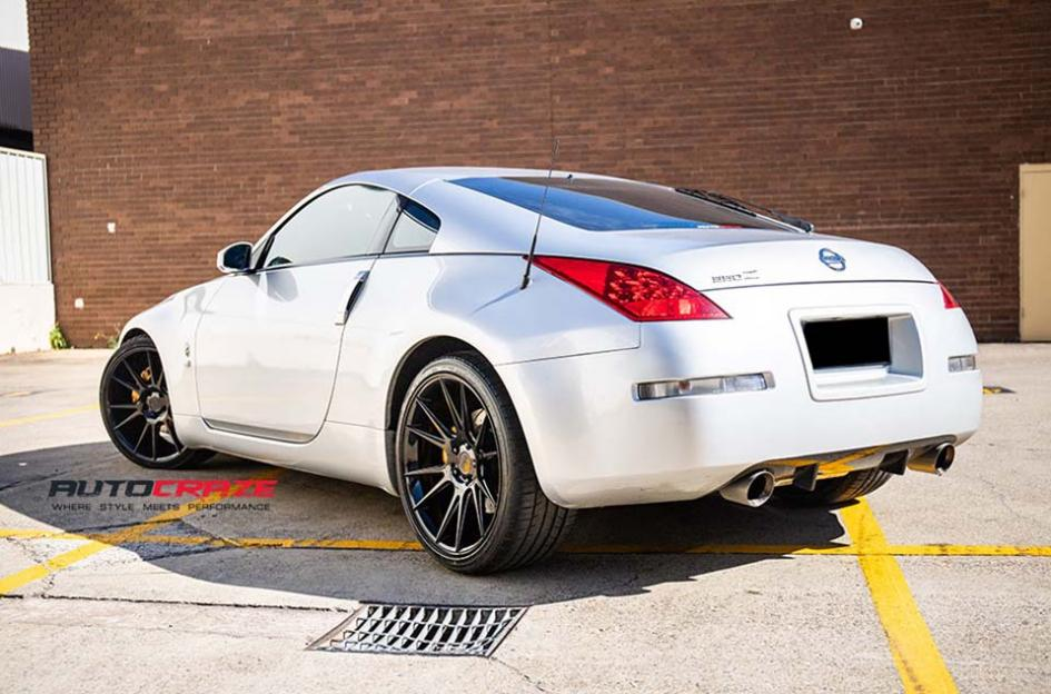 NISSAN 350Z VICENZA BLACK POWDER