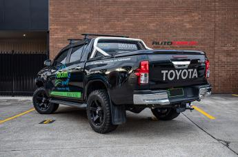 TOYOTA HILUX 4WD EXODUS MATTE BLACK  small