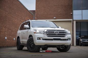 Toyota LANDCRUISER VECTOR MATTE BLACK