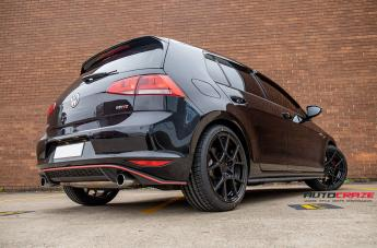 VOLKSWAGEN GOLF KPS MATTE BLACK  small