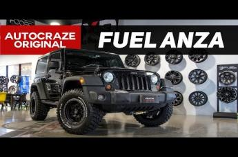 Jeep WRANGLER ANZA MATTE BLACK WITH ANTHRACITE RING