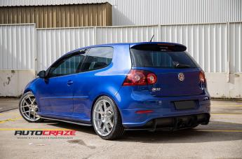 VOLKSWAGEN GOLF STAGE FULL POLISH SILVER  small