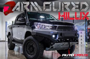 Toyota HILUX 4WD ARMORY MATTE BLACK