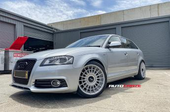 Audi A3 (2003 ONWARDS) LAS-R SILVER