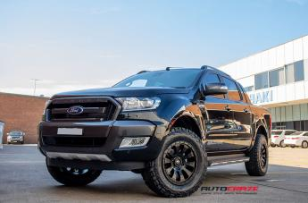 FORD RANGER TACTIC MATTE BLACK  small