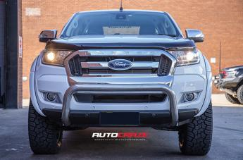 FORD RANGER BLITZ PLATINUM BRUSHED GUN METAL TINTED CLEAR  small