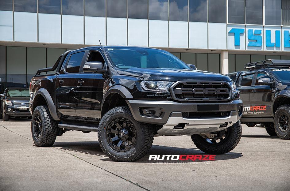 FORD RANGER RAPTOR AMBUSH MATTE BLACK