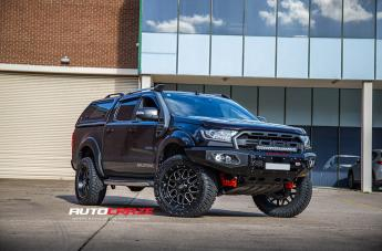 Ford RANGER GRENADE XD SATIN BLACK MILLED ACCENTS