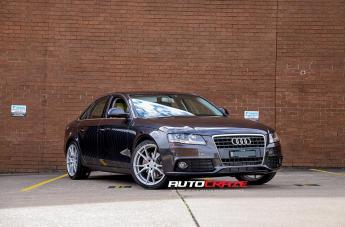 Audi A4 (2003 ONWARDS) SF06 SILVER MACHINED FACE