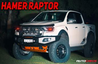 Ford RANGER RAPTOR VECTOR 6 BLACK