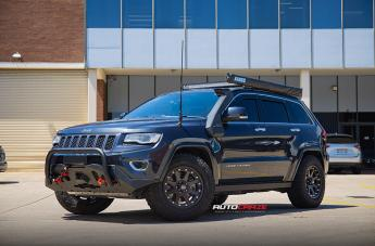 Jeep GRAND CHEROKEE ADDICT MATTE BLACK
